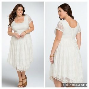 Torrid | Ivory Lace Dress